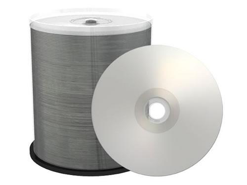 PREMIUM-Line CD-Rohlinge - bedruckbar/inkjet printable silber - 100 Stück (CD-Rohlinge bedruckbar)