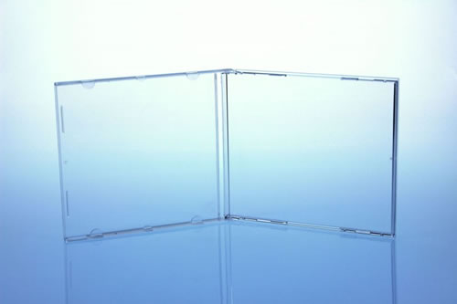 CD-Jewelcase Ultra High Quality - 100 Stück (CD-Huellen Jewel Case)