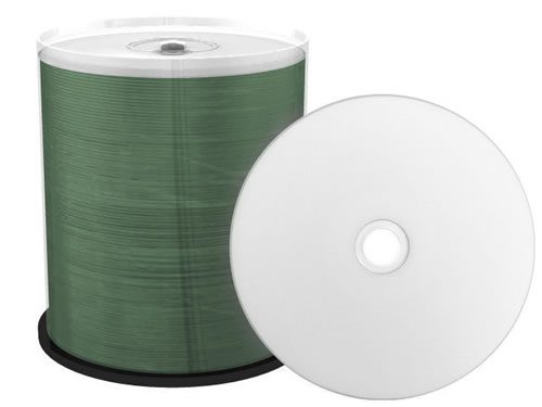 VERBATIM CD-Rohlinge - bedruckbar/inkjet printable weiss - 100 Stück (CD-Rohlinge bedruckbar)