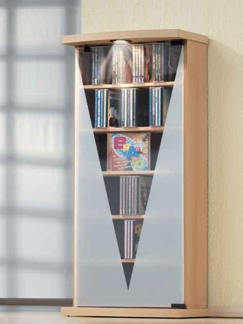 vcm cd turm lumos mit beleuchtung f r 216 cds oder 88 dvds im cd fachmarkt direktversand cd. Black Bedroom Furniture Sets. Home Design Ideas