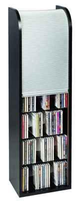 vcm cd turm f r 150 cds oder 64 dvds im cd fachmarkt direktversand rollo turm 150 vcm cd rollo. Black Bedroom Furniture Sets. Home Design Ideas